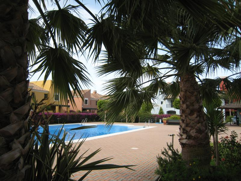 View of main pool