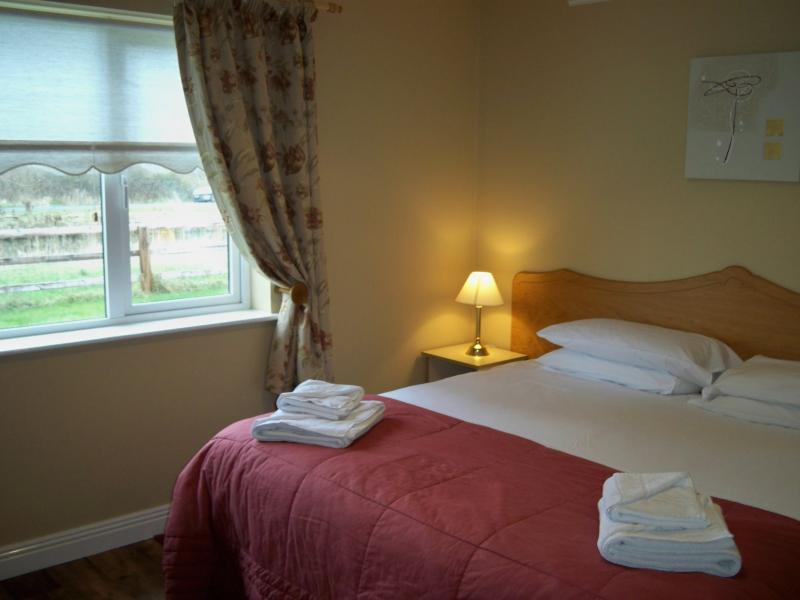 Robertstown Holiday Village - Double bedroom with King-size bed