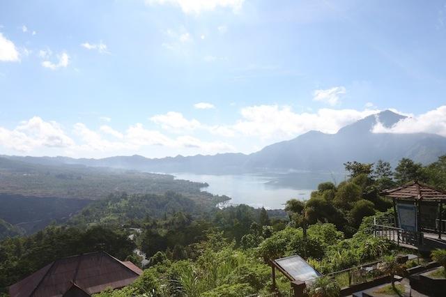 uitzicht vanaf 30 minuten ten noorden van villa