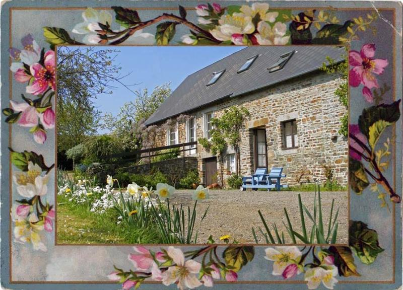 La Laiterie: Charming gite with traditional features sleeps 2/4 – semesterbostad i Orne