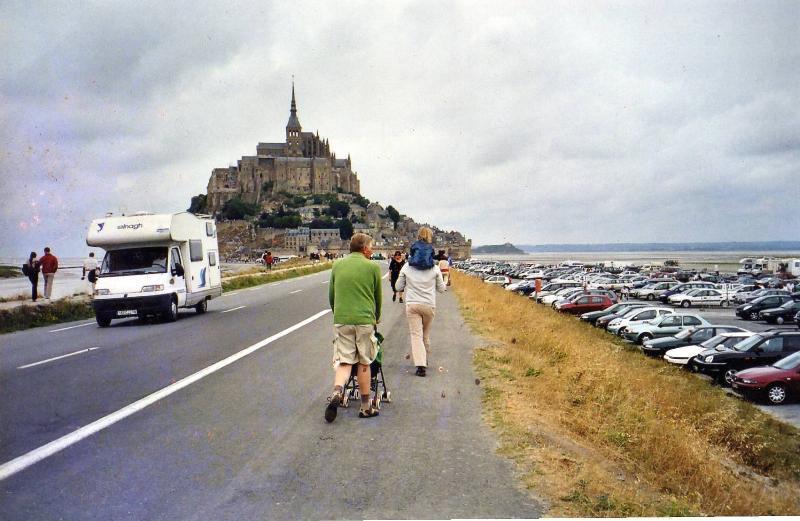 The magical rock Le Mont Saint Michel