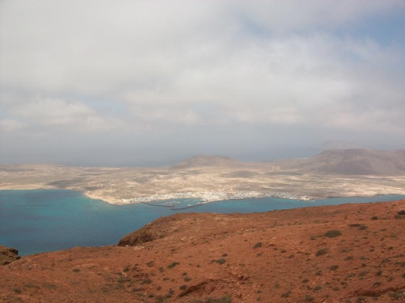 La Graciosa Island from Mirador del Rio.
