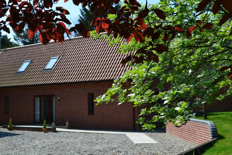 Woodpecker Lodge, location de vacances à Wayford