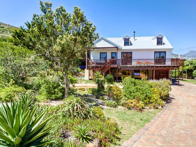 House at Longbeach, Noordhoek, Cape Town - Main view