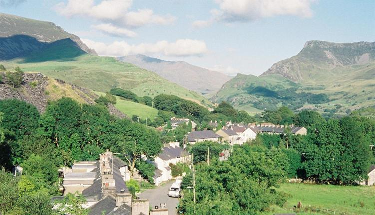 Nantlle village