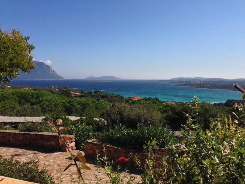 Casa Marco has the most amazing view (photo with fisheye)