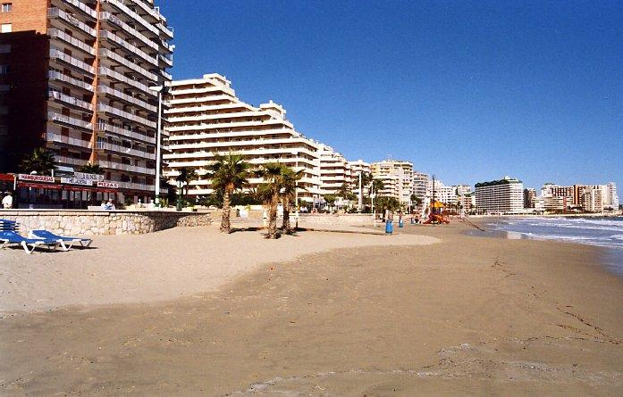Calpe beach, a beautiful location