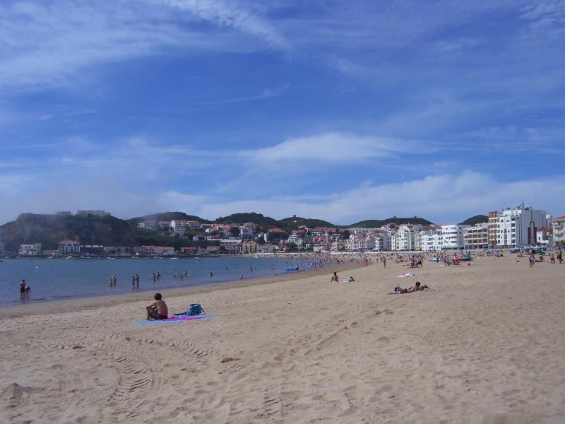 Sao Martinho de Porto  beach