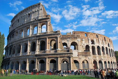 a View of Colosseo