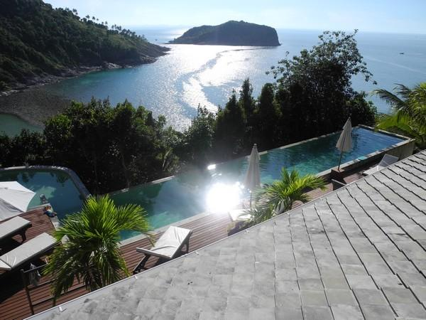 Lord Jim Retreat Koh Phangan Private Pool Villa for rent - Beach - Nature - Sea views