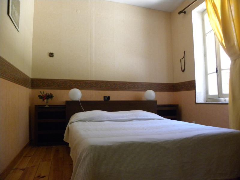 une des chambres à l'étage