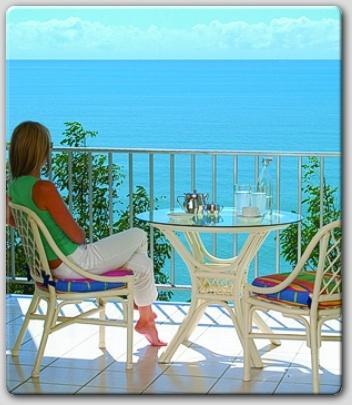 Relaxe na varanda