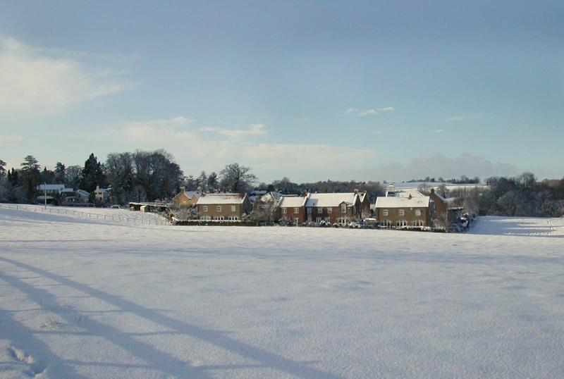Copgrove village in the winter