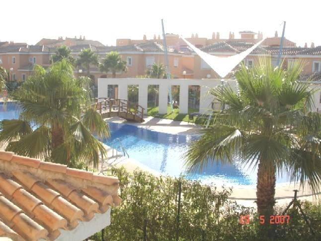 VIEWS FROM THE HOUSE ACROSS TO LARGE ORNATE SWIMMING POOL
