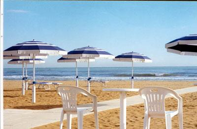 View of Riccione Beach
