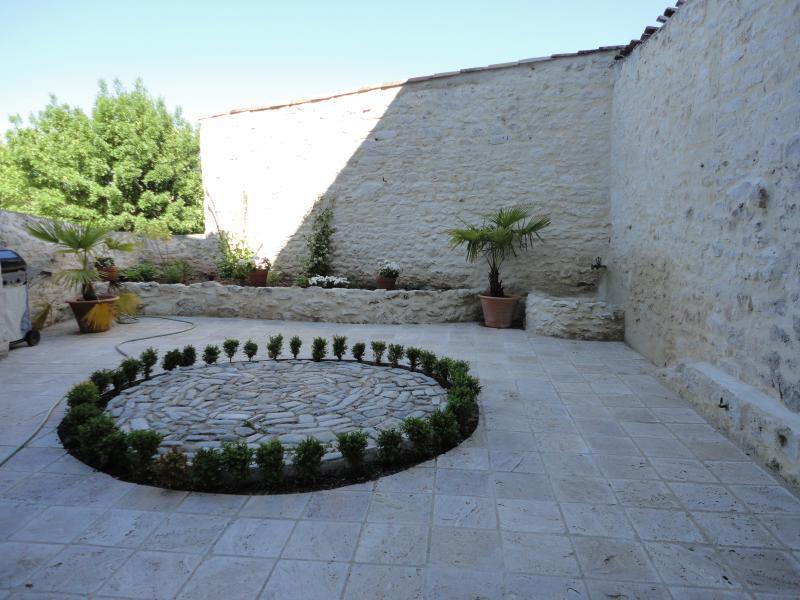 Hof - Gartenseite