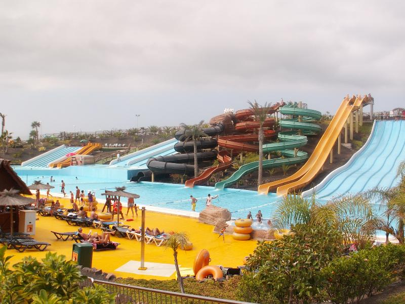 Water park (45 min drive - buses and excursions available)