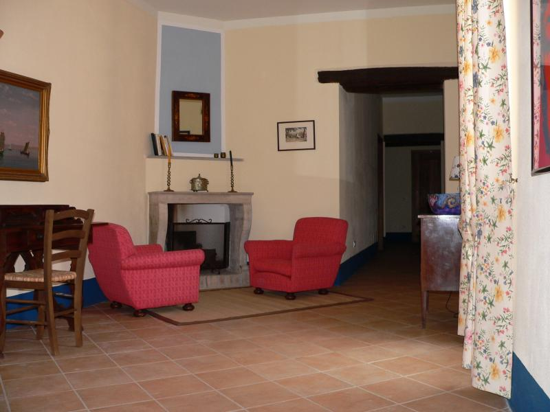 Palazzo ducale Allerot, holiday rental in Salignano