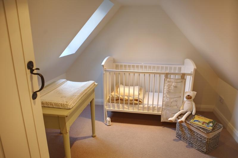 baby has own room adjoining mum and dads suite