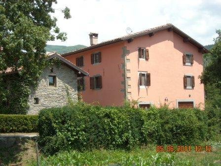 Eco Farmhouse with horses Pioppi Villa, holiday rental in Castiglione di Garfagnana