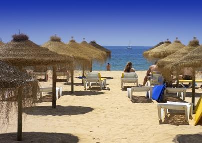 Falesia Beach in Vilamoura