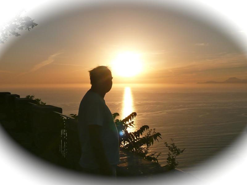Magical sunsets over Capri