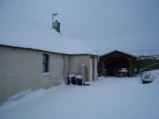 West Cottage in the Snow