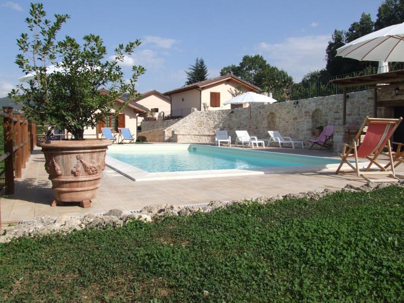 Valleprata - casa Lo Spigo, Ferienwohnung in Borgo Cerreto