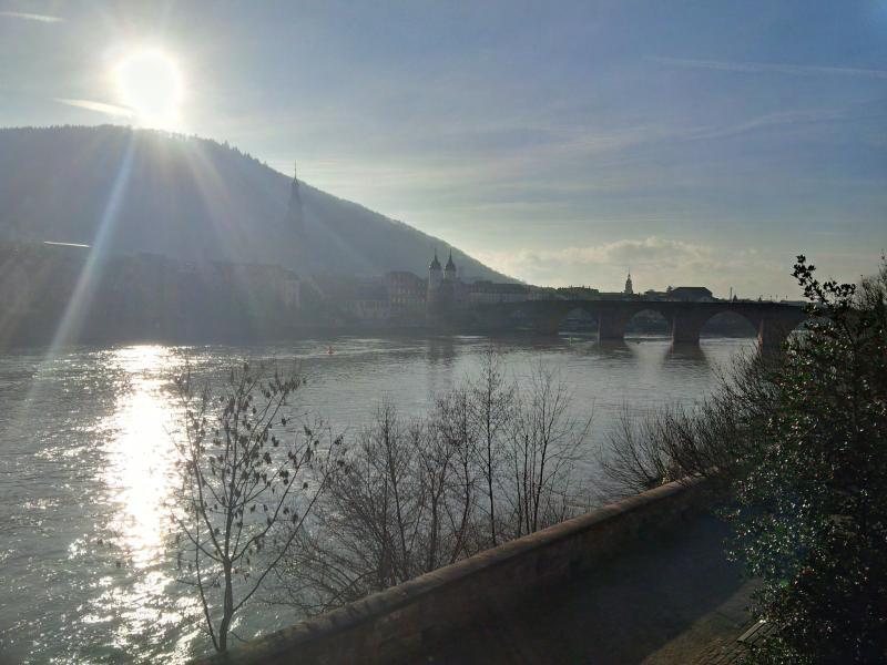 entering romantic Heidelberg