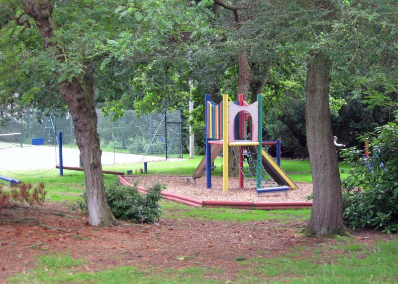 Childrens' Play Area and Tennis Courts