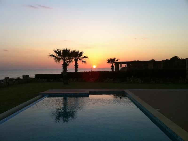 Villa Sunset!!! This is the best place to the the sunset  from!!!!