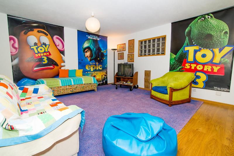 A lot of color in around 100 sqm