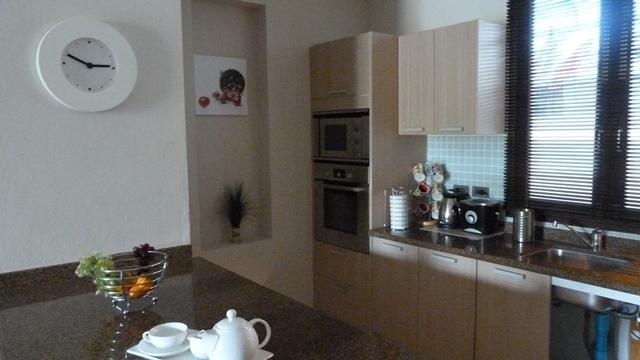 Fully equipped European style kitchen