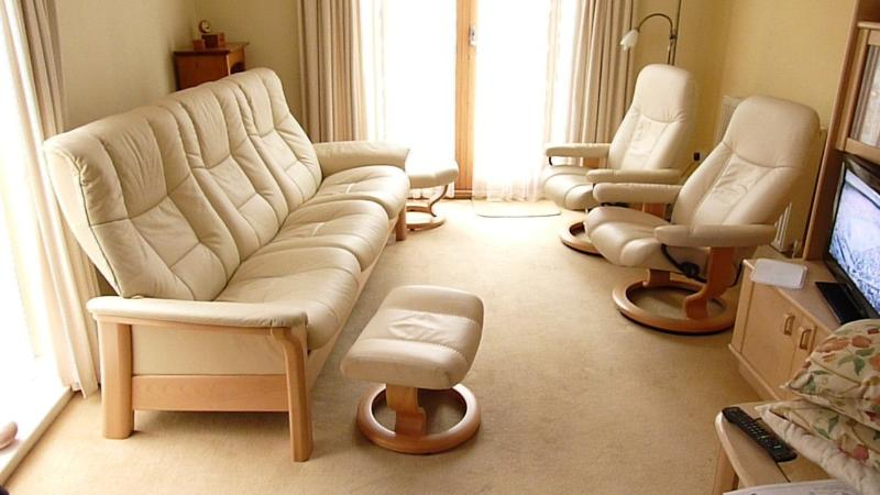 The lounge with Stressless furniture