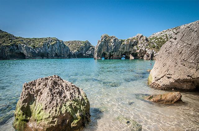 Playa de Cuevas del Mar.