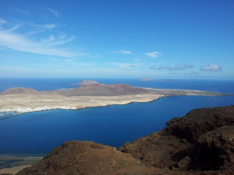 Great view of La Graciosa Island.