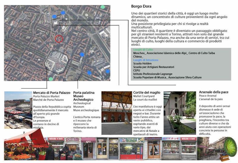 The Borgo Dora district