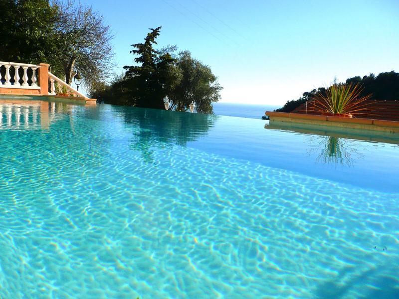 Pool with Infinity edge