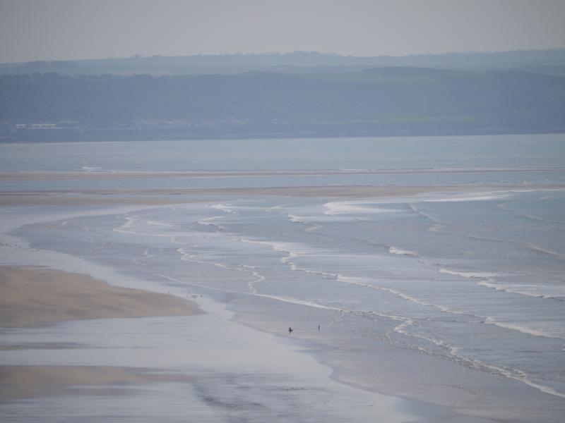 Saunton beach looking across to Westward Ho