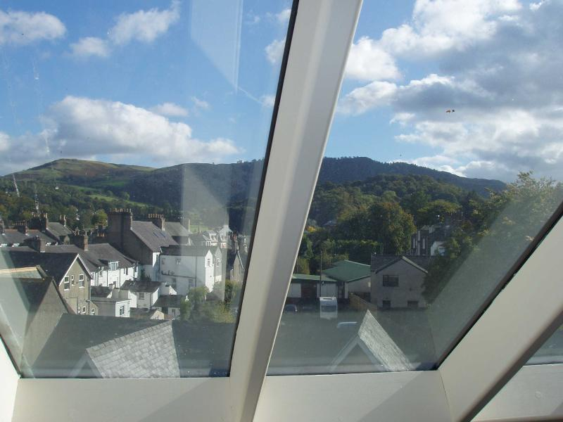 View of Walla Crag from top floor