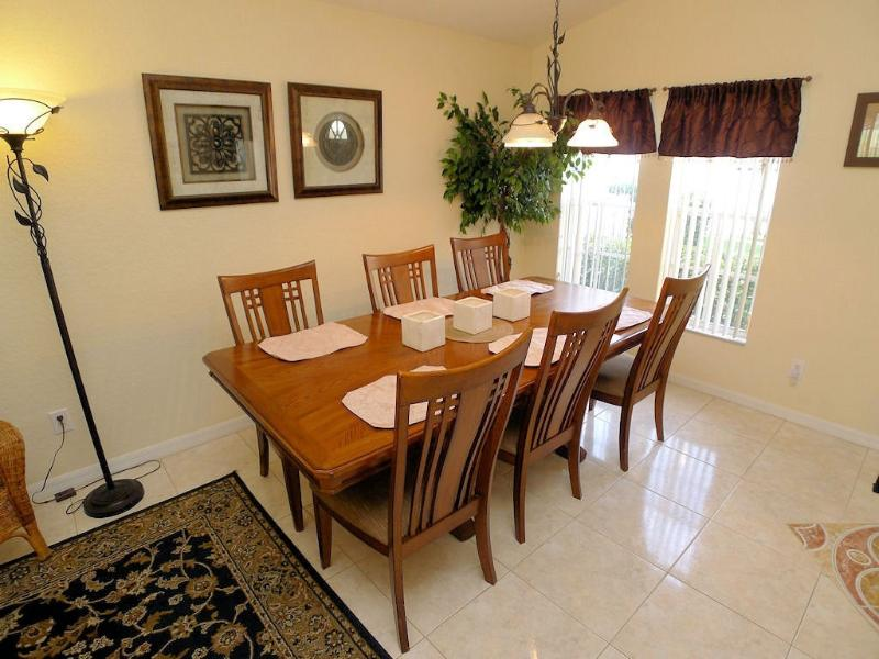 Spacious formal dining area