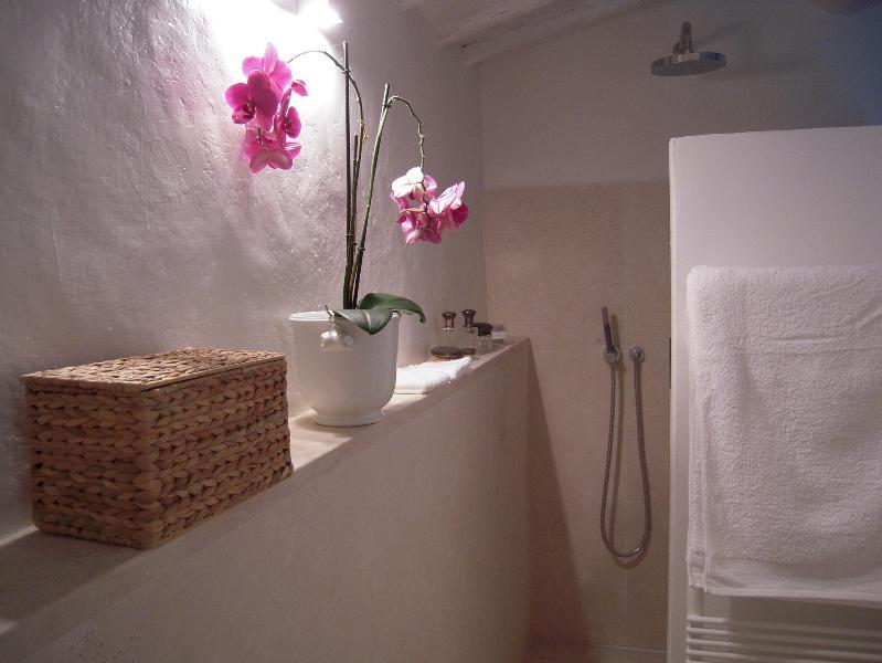 Detail of the main bathroom