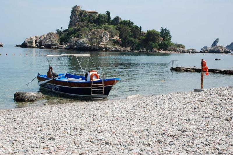 Plage d'Isola Bella