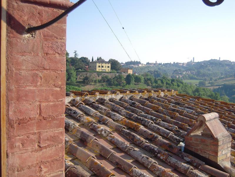 View Towards Siena