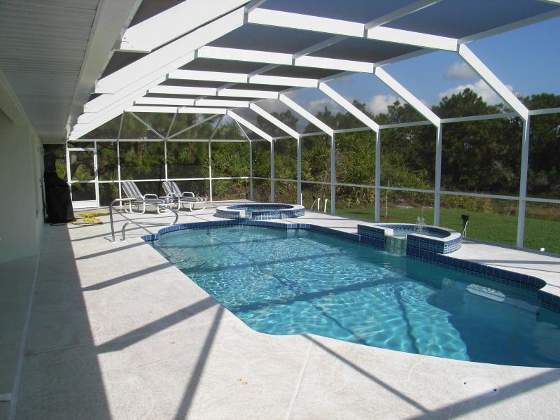 Pool, spa, and pool deck