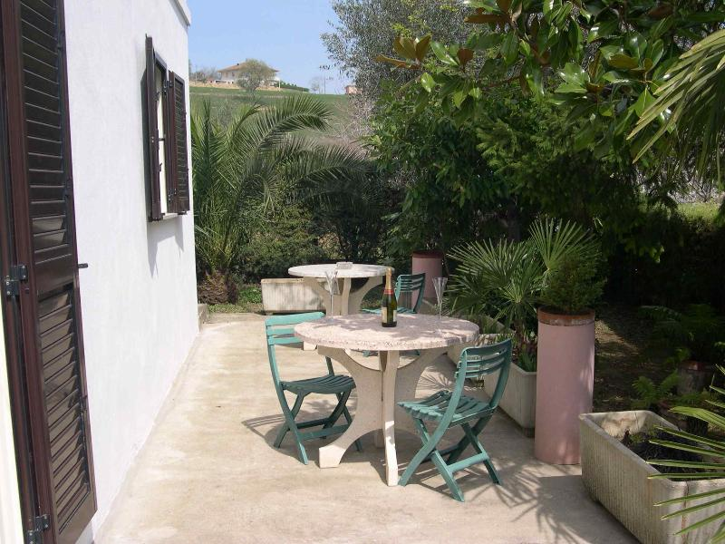 Patio area, ideal for al fresco dining