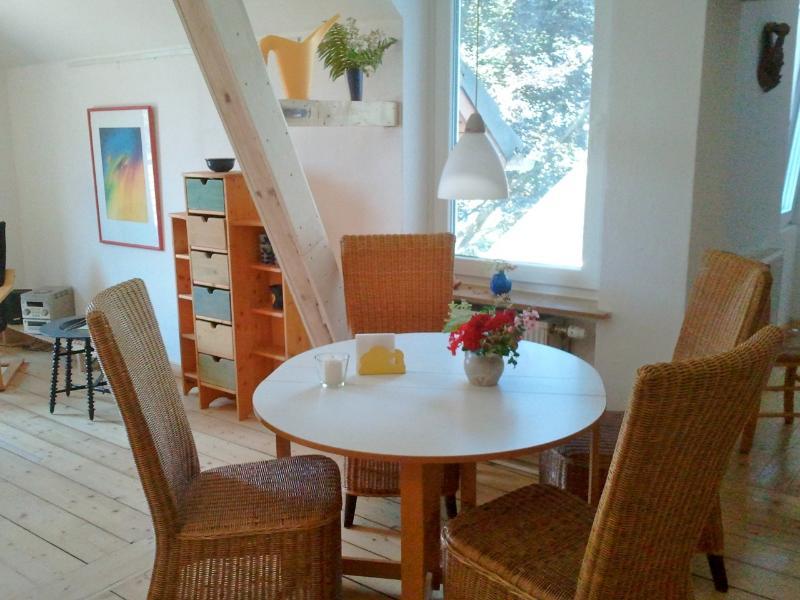 La salle à manger / table de la salle à manger