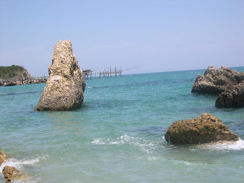 Swim in the warm clear water of the Adriatic coast...