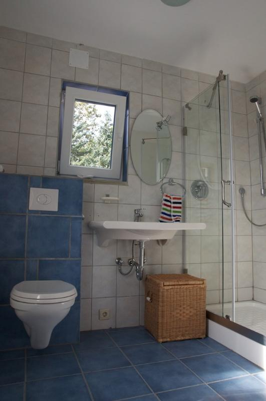 Dans la salle de bain/salle de bain