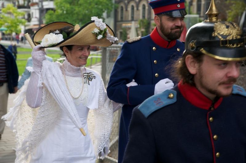 Und kaiserliche Kostüme in Koblenz / Fun, festivals, culture in Koblenz, Andernach, Cologne
